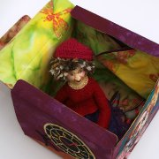 Still in her box